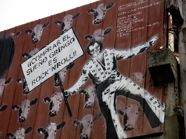 Art de rue Valparaiso, Chili