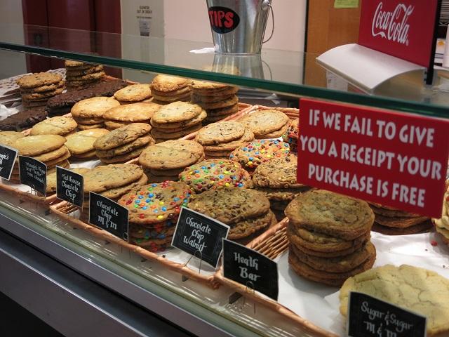 Biscuits - Quincy Market - Boston, États-Unis