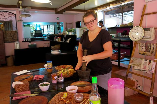 Cours de cuisine River Garden - Siem Reap, Cambodge