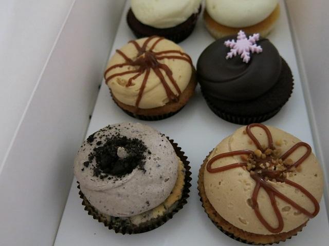 Cupcakes du Georgetown Cupcake - Boston, États-Unis