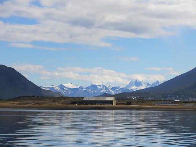 En quittant le port - Ushuaia, Argentine