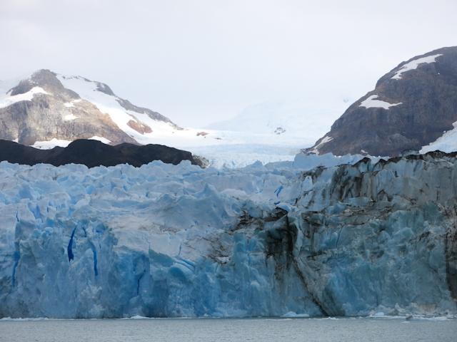 Glacier de face, tout près - Cruceros MarPatag - El Calafate, Argentine