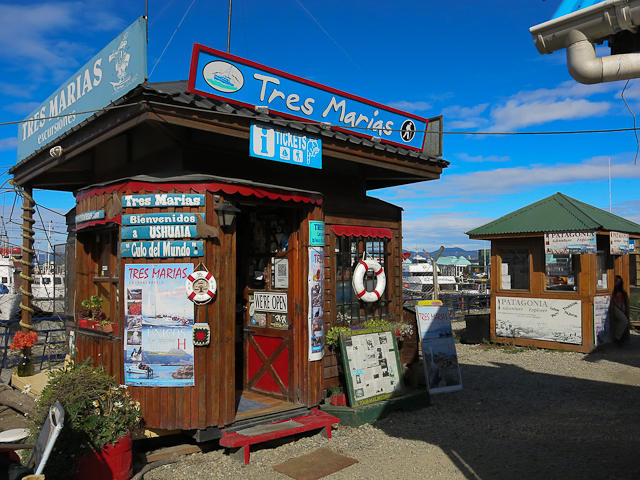 Kiosque Tres Marias - Port d'Ushuaia, Argentine