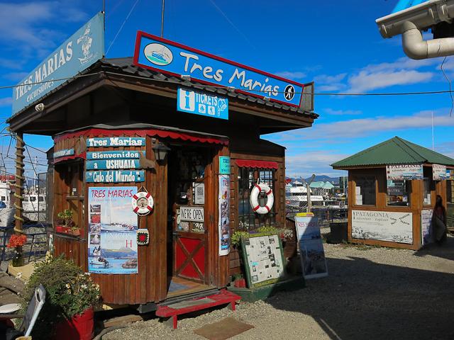 Kiosque Tres Marias - Ushuaia, Argentine