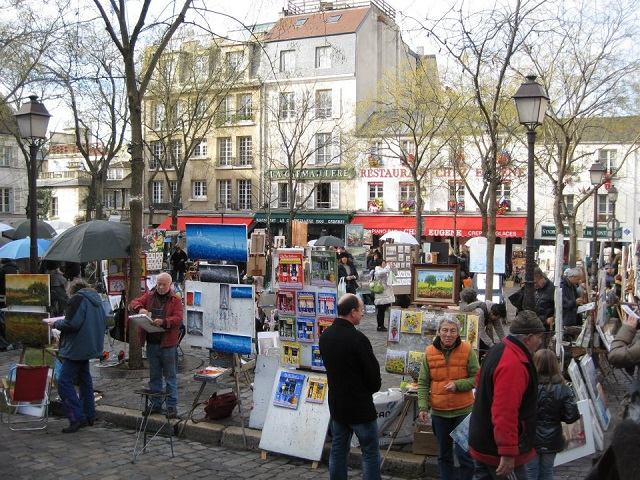 Montmartre - Paris - Lorraine Phillipson