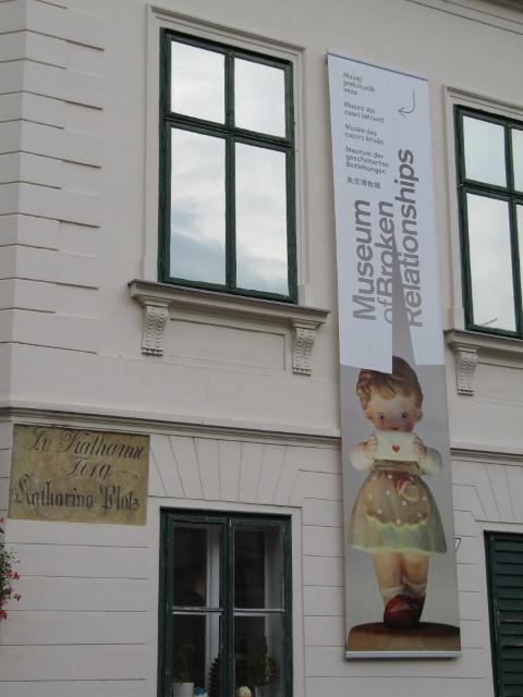 Musée des coeurs brisés - Zagreb, Croatie