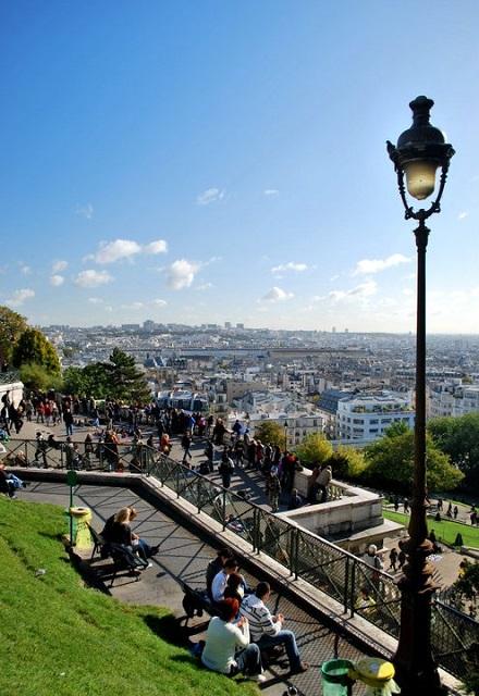 Parvis du Sacré-Coeur - Paris - Johann Chabert