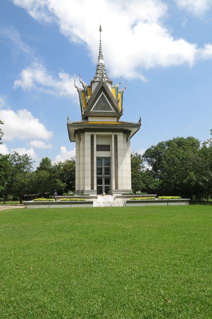Stupa - Killing Fields - Phnom Penh, Cambodge