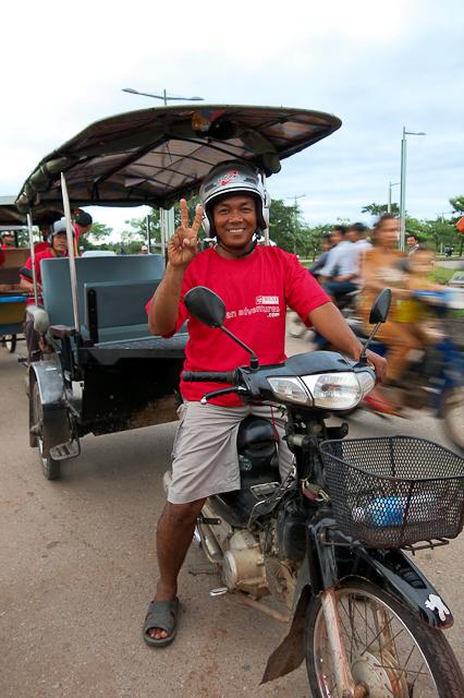 Tuk-tuk - Siem Reap, Cambodge