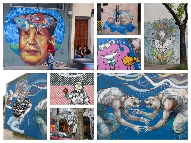 Art de rue - Graffitimundo - Buenos Aires, Argentine