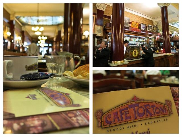 Café Tortoni - Buenos Aires, Argentine