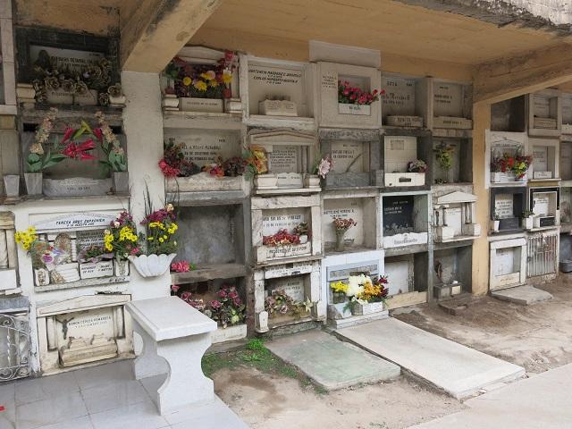 Cimetière de Santiago au Chili