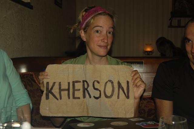 Auto-stop Kherson