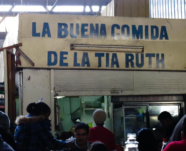 La buena comida de la Tia Ruth - Santiago, Chili