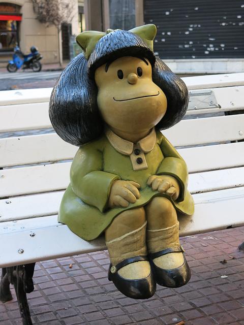 La coquine Mafalda - San Telmo, Buenos Aires, Argentine