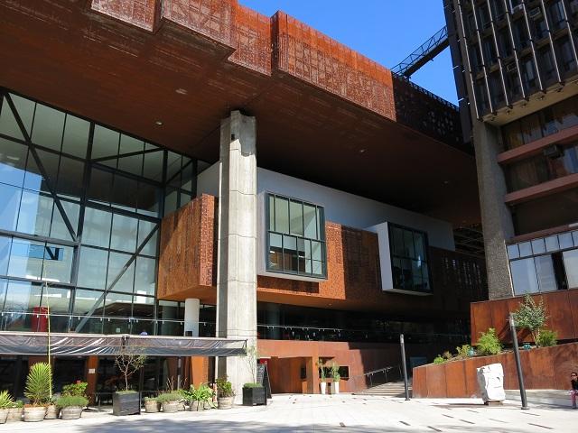 Le centre culturel GAM - Santiago, Chili