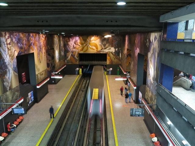 Le métro de Santiago, moderne et bien pensé