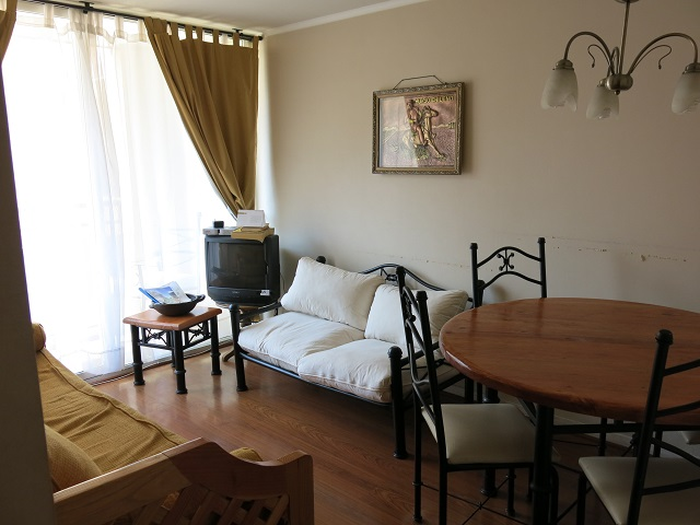 Le salon de notre appartement Wimdu à Santiago, Chili