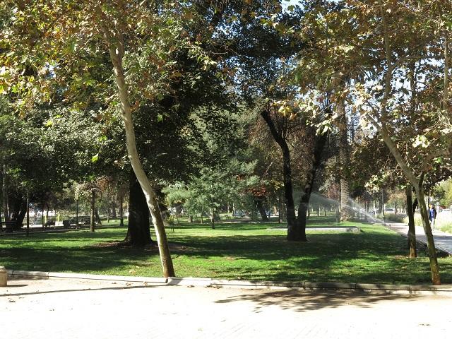 Parque Forestal - Santiago, Chili