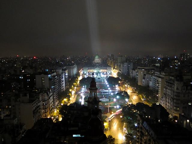 Vue du Palacio Barolo - Buenos Aires, Argentine