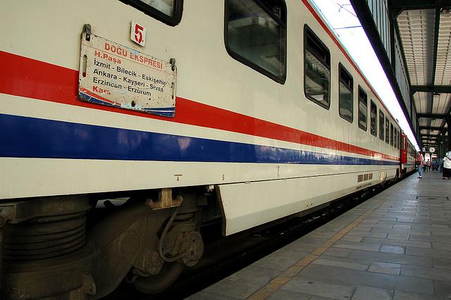 Dogu express, train en Turquie