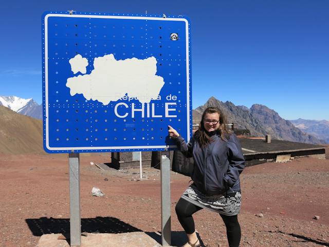 À la frontière Chili-Argentine