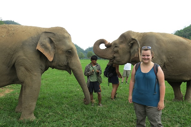 Elephant Nature Park à Chiang Mai, Thailande