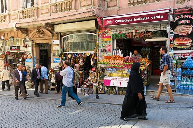 Kiosques de fruits - Istanbul, Turquie