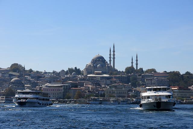 Panorama au fil de l'eau - Istanbul, Turquie