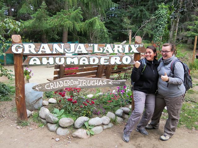Pisciculture à El Bolson, Argentine