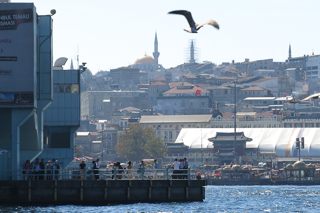 Pont Galata - Istanbul, Turquie