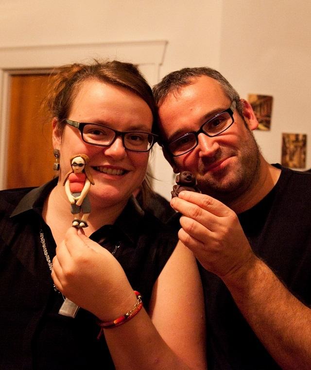 Retour de voyage - Mini-moi et bouddha - Jérôme et Jennifer