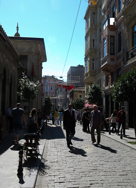 Ruelles d'Istiklal - Istanbul, Turquie