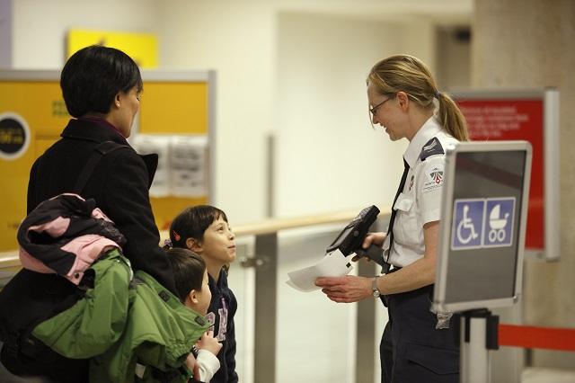 Voyager avec des enfants - Aéroport