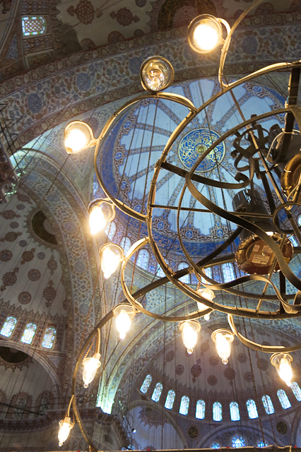 Grande Mosquée - Istanbul, Turquie