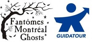 Logo Guidatour Fantômes Montréal Ghosts