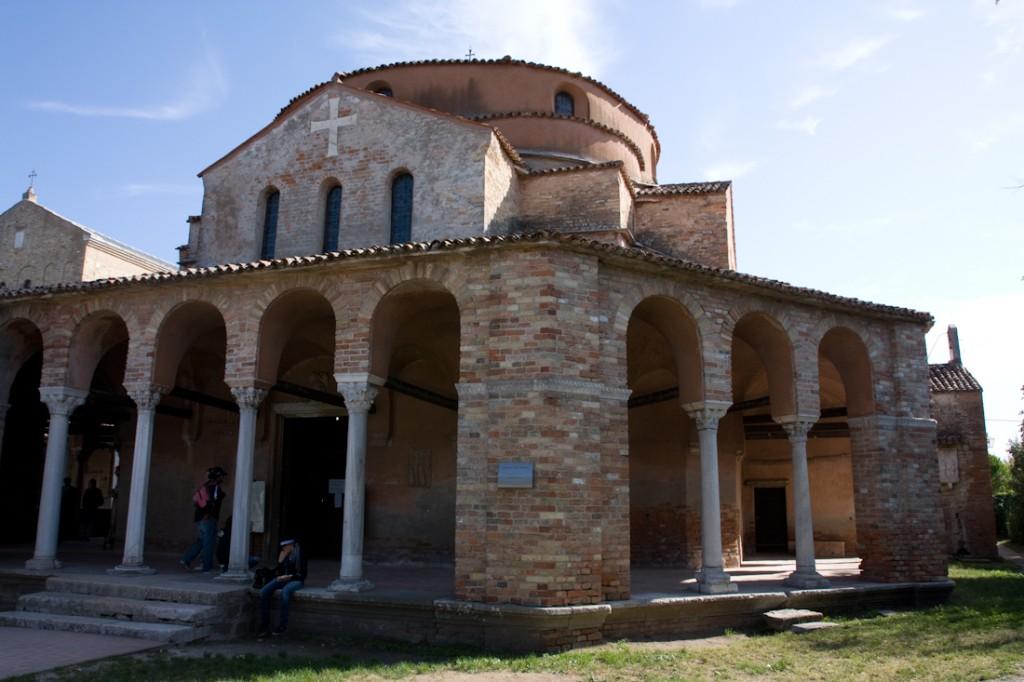 Arrivée à Torcello, Italie