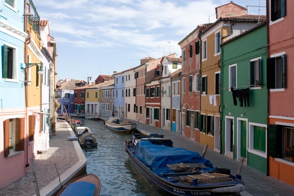 Canal de Burano, Italie