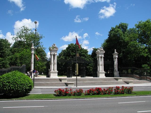 Entrée du Parque del Buen Retiro - Madrid, Espagne