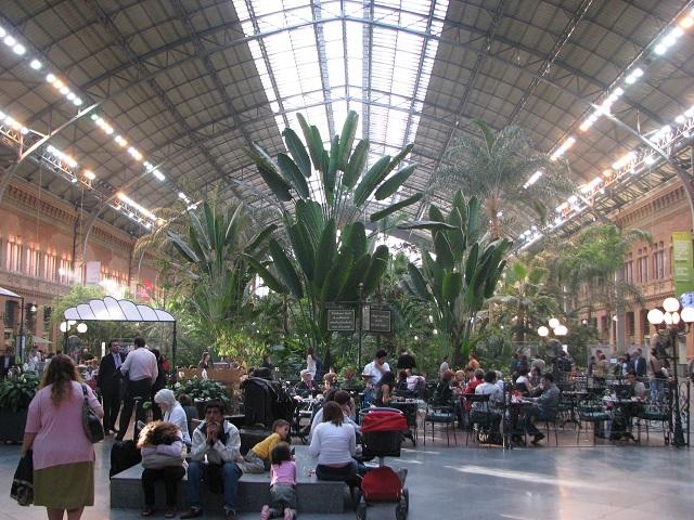 Estacion de Atocha - Madrid, Espagne