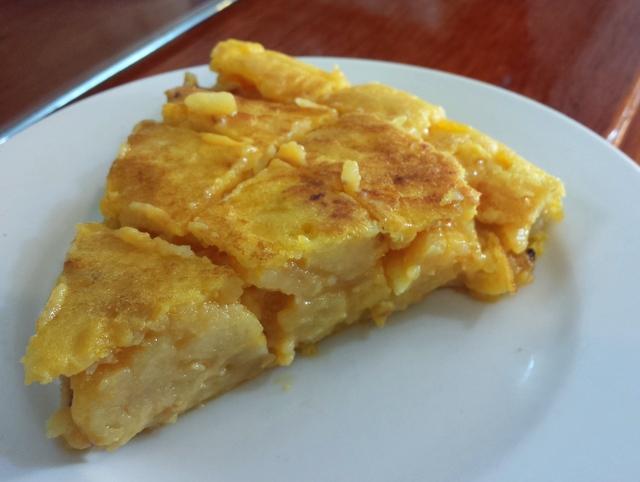 La fameuse tortilla d'Espagne