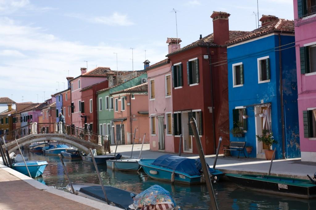 Les maisons de pêcheurs de Burano, Italie