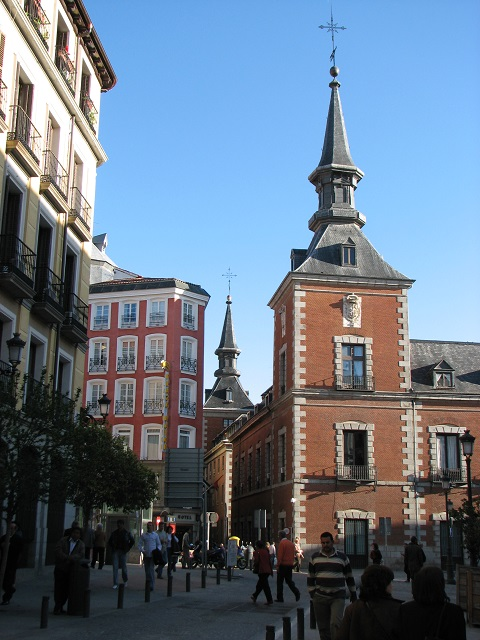 Madrid à pied - Espagne