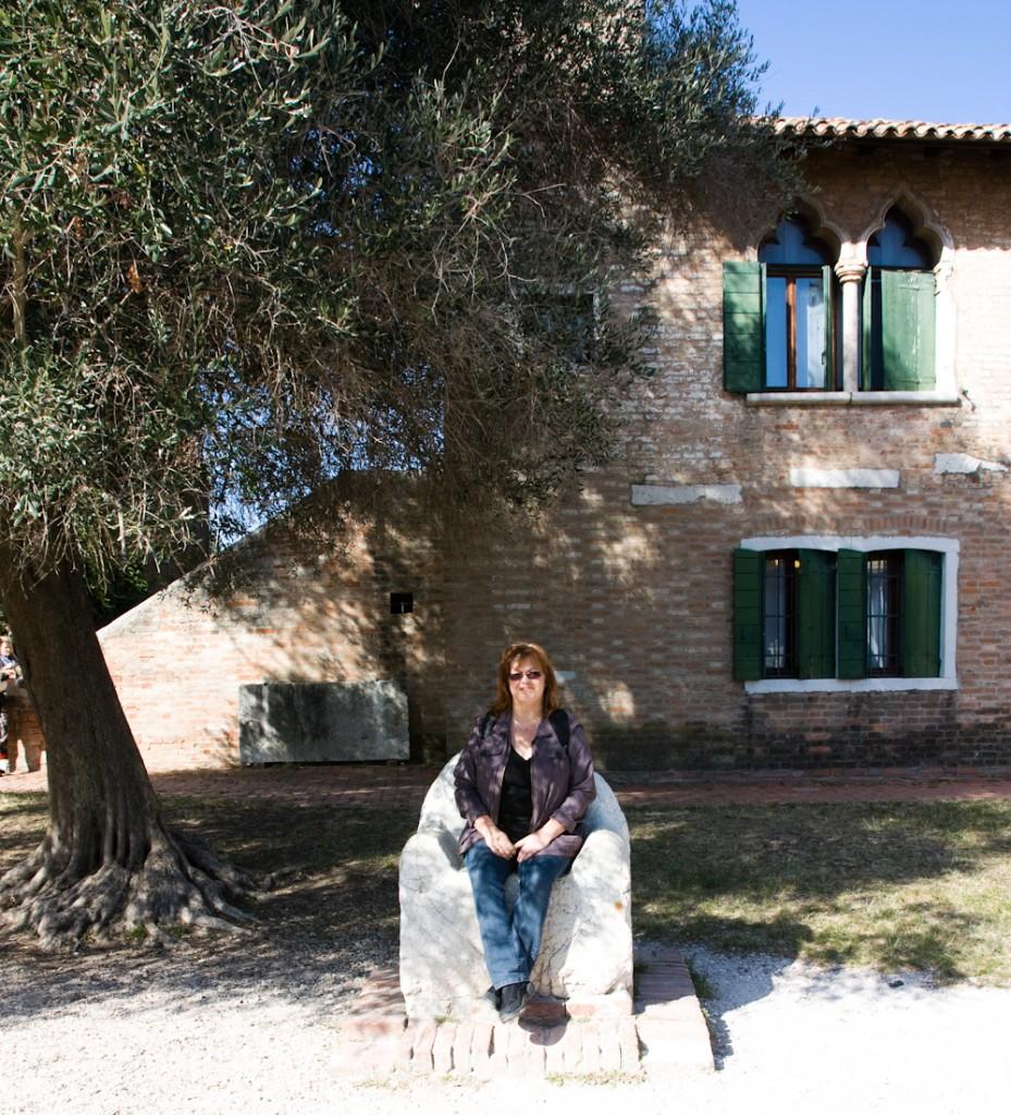 Maman à Torcello, Italie