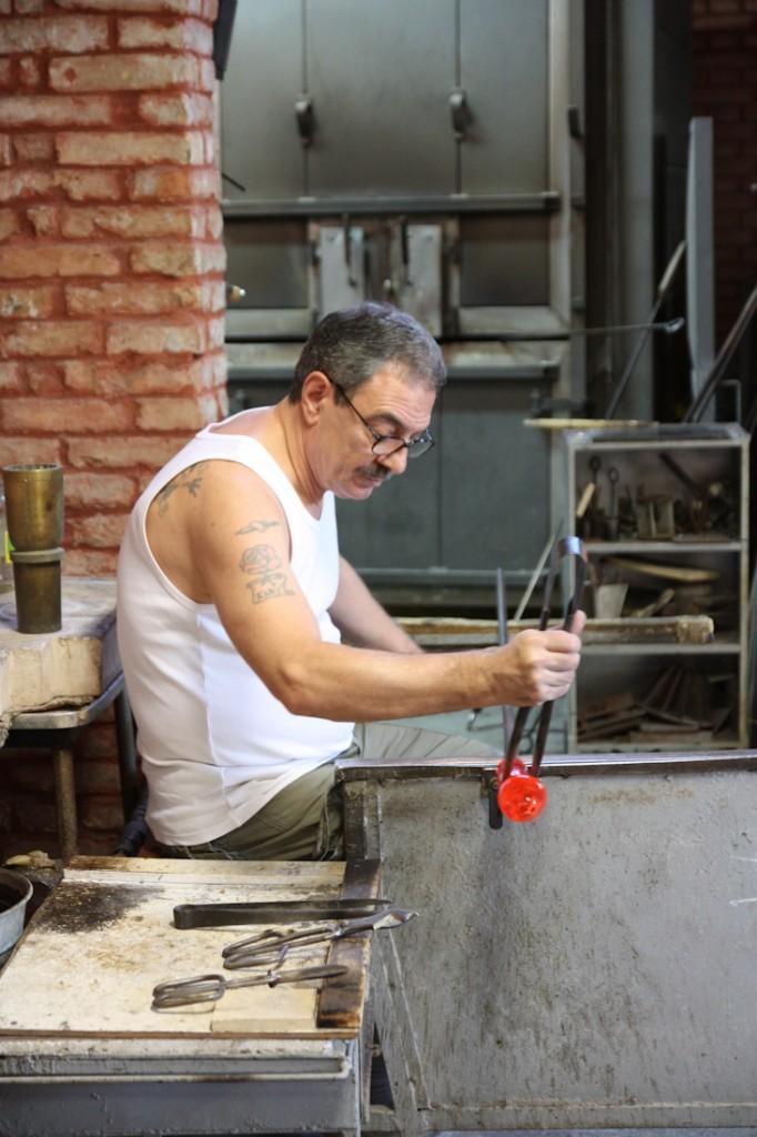 Souffleur de verre - Murano, Italie