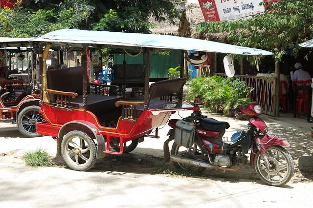 Un tuk-tuk cambodgien classique