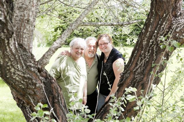 Une séance de Lucie Bataille Photographie avec mes grands-parents