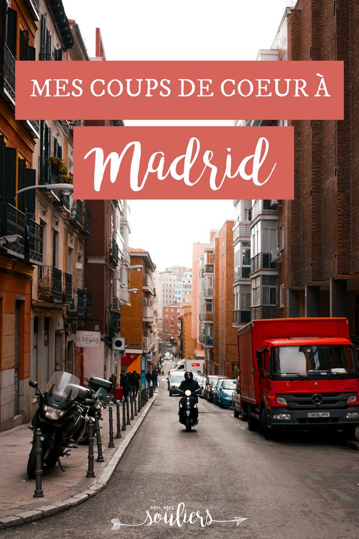 Coups de coeur à Madrid