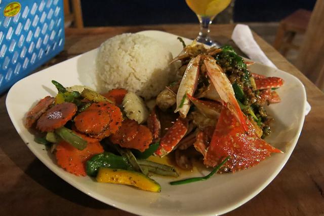 Crabe au poivre - Kep, Cambodge