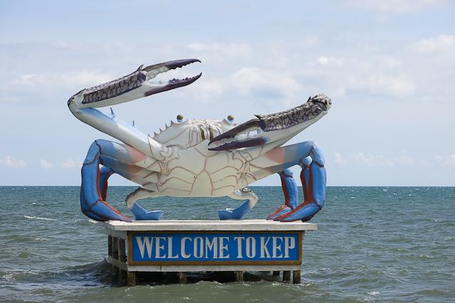 Crabe de Kep, Cambodge